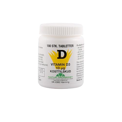 Image of D3 vitamin Økonomikøb 400 i.e. 180 tab