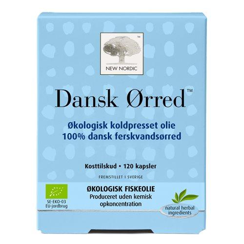 dansk ørred fiskeolie