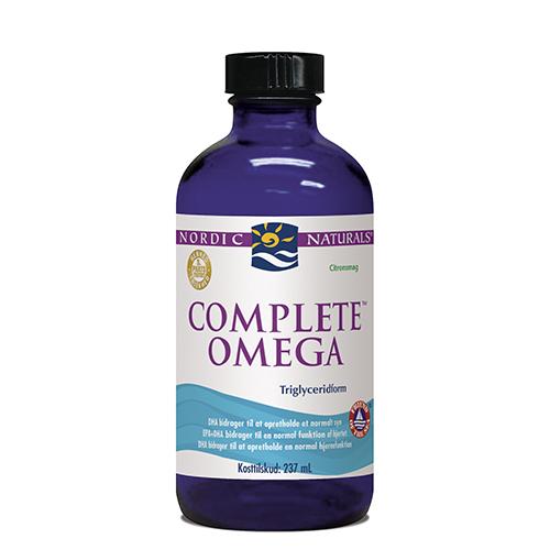 Omega complete flydende med citrussmag 237 ml