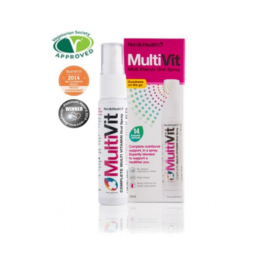 Image of   multivitamin & mineral oral spray