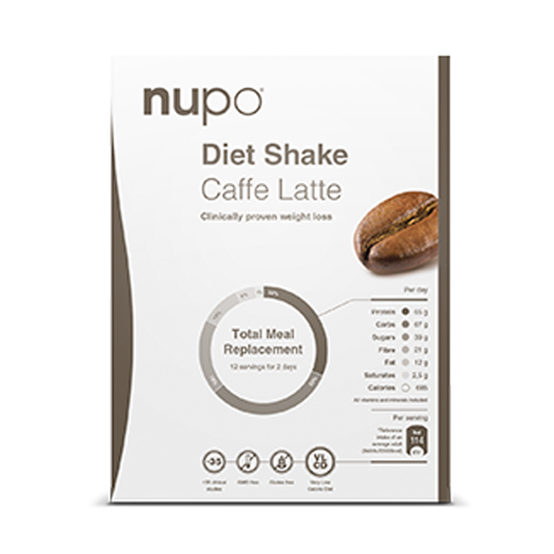 Nupo Caffe Latte breve 12 br