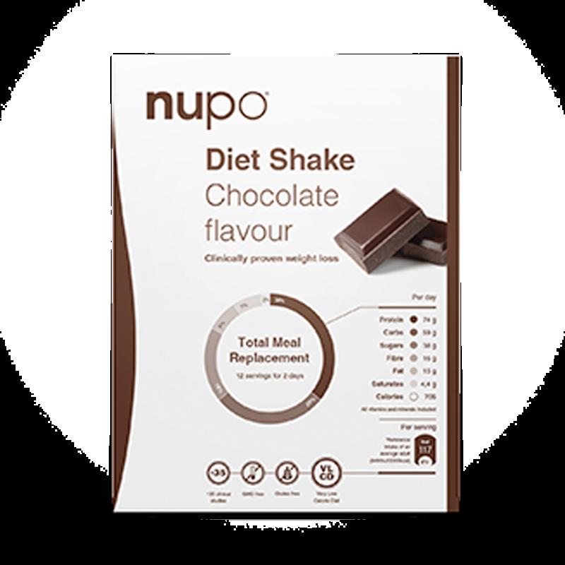 Nupo diet shake kakao breve 384 gr