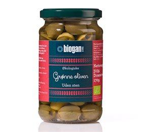 Biogan grønne oliven fra Helse Helse