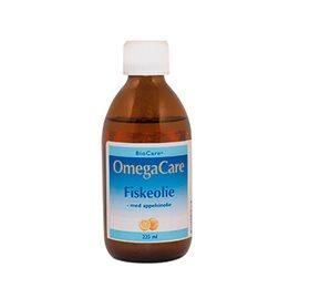 Image of   Fiskeolie OmegaCare med appelsinsmag 225ml