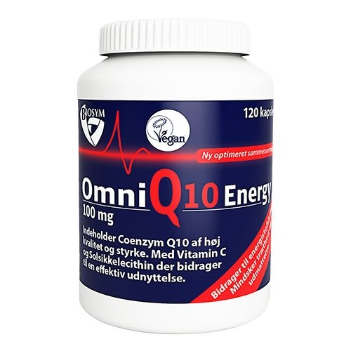 Image of   Biosym OmniQ10 Energy 100 mg (120 kapsler)