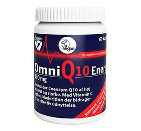 Image of   Biosym OmniQ10 Energy 100 mg (60 kapsler)
