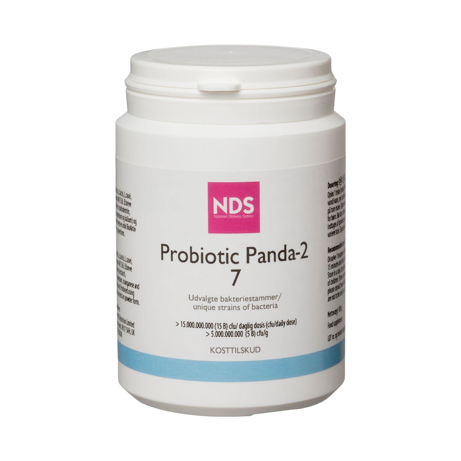Image of   NDS probiotic panda 2-Tarmflora 100 gr