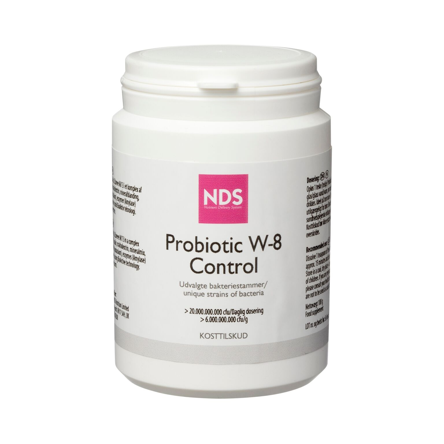 Image of   NDS Probiotic W-8 Control