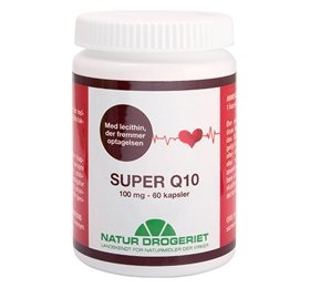 Q10 Super m.lechitin 100 mg 60kap. fra Naturdrogeriet