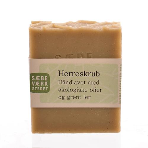 Image of   Herrescrub økologisk sæbe 100gr