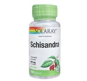 Image of   Schizandra 580 MG 100 kap fra Solaray