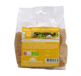 Sennepsfrø gul Økologisk 250 gr fra Naturdrogeriet
