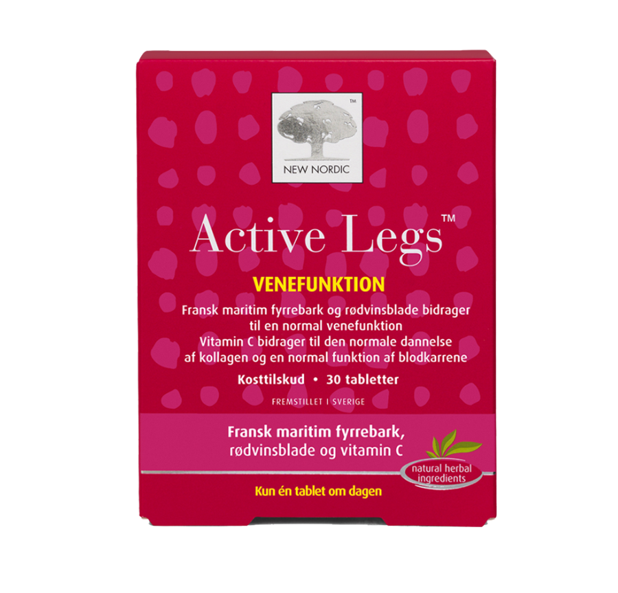 Image of   Active Legs New Nordic Healthcare (60 stk.)