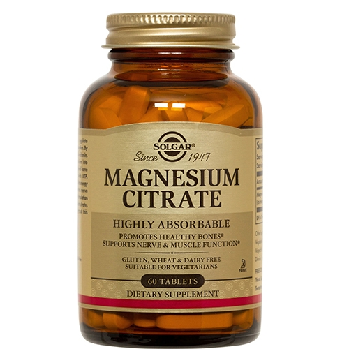 Image of   Magnesium Citrate 60 tab fra Solgar Nordic
