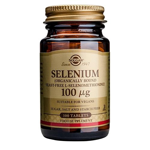 Image of   Selen 100 mcg tabletter 100 tab fra Solgar Nordic