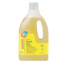 Image of   Flydende tøjvask colour økologisk fra Sonett (1,5 liter)