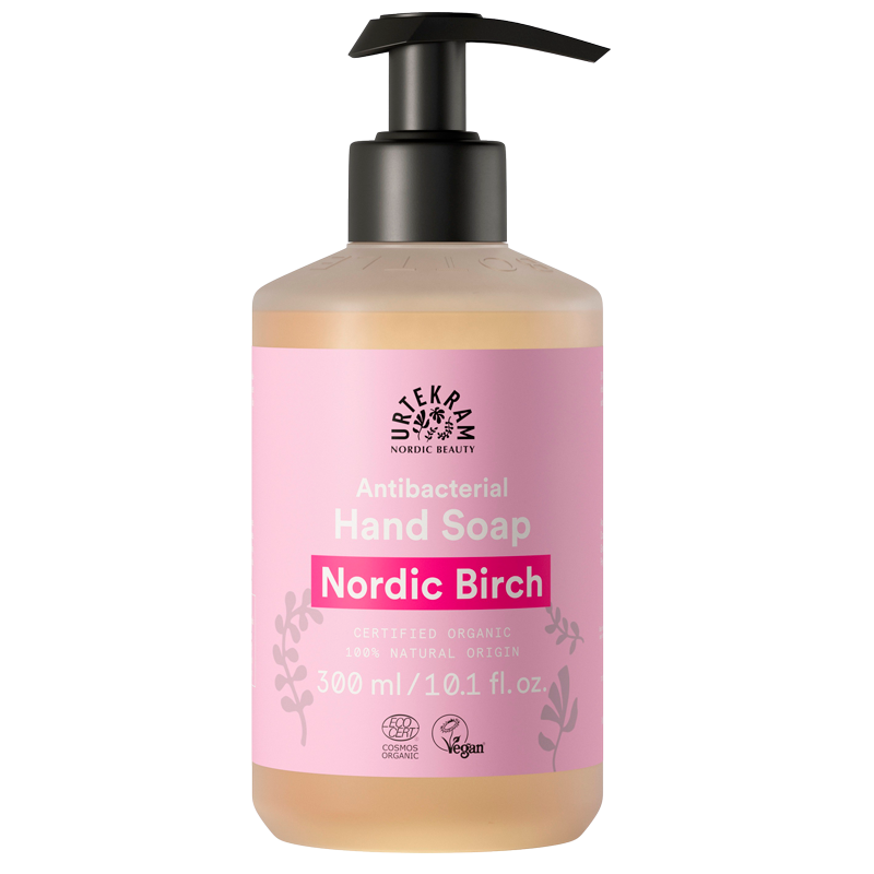 Håndsæbe antibacterial Nordic Birch 300ml